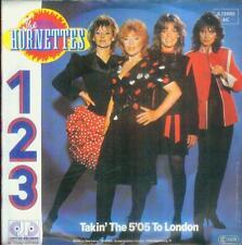 """7"""" Hornettes/1 - 2 - 3 (D) Promo"""