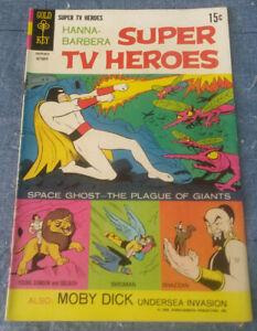 Hanna-Barbera Super TV Heroes #3 Silver Age-Gold Key Comics Very Good Plus