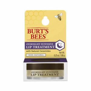 Burt's Bees Overnight Intensive Lip Treatment ~ 0.25 Oz