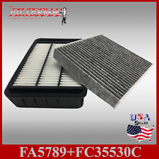 FA5789 FC35530 ENGINE & CABIN AIR FILTER: 2011-12 RVR & OUTLANDER SPORT L4 2.0L