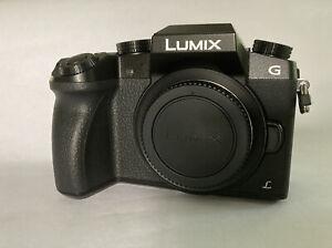Panasonic LUMIX G7 16.0 MP Interchangeable Lens Camera - Black (Body Only)