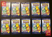 🔥Lots of 3-100 Packs HOLO Pokemon 25th Anniversary McDonalds 2021 Promo Sealed