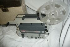 Cine film projector EUMIG MARK S 710D super 8 with SOUND + case & CD info