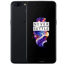 OnePlus 5 A5000 Dual Sim 128GB 8GB 5.5'' LTE Ohne Simlock Smartphone NEU-Schwarz