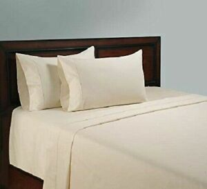 100% Egyptian Cotton Extra Soft Fitted Sheet Bed Sheets all Size Extra Deep 40CM