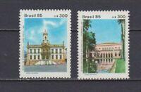 S19163) Brasilien Brazil 1985 MNH Neu Museen 2v