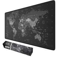 Tappetino mouse xxl mappa mondo Mousepad 900x400x grande antiscivolo gaming
