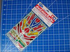 New Tamiya 1/32 decals 4wd Mini Racer #15057 Shooting star dress up sticker set