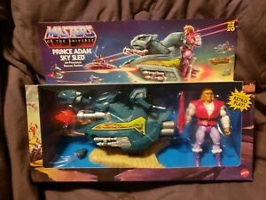 Masters Of The Universe Origins PRINCE ADAM SKY SLED Mattel SEALED New !!