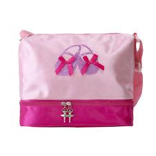 Kid Ballet Dance Bag Girls Ballerina Dancing Shoulder Tote Luggage Bag Zippered