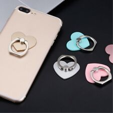 360° Heart Love Lightweight Metal Ring Stand Holder for Mobile Phone HTC LG OPPO