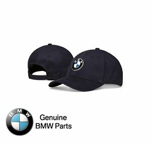 BMW Genuine Logo Baseball Cap / Dad Hat - Navy Blue - 80162454620