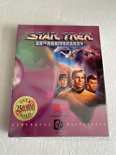 STAR TREK :25th ANNIVERSARY CD ROM*COMPUTER ROLE PLAYING GAME*Tested & Works