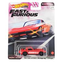 Hot Wheels Corvette Stingray 65 Fast & Furious Quick Shifters GBW75-956J 1/64