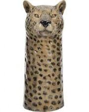 Quail Ceramics Leopard Flower Vase | Wildlife Animal Print Home Interior Gift
