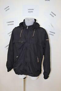 Napapijri Geographic Mens Tapet Seams Novascotia Hooded Outdoor Jacket sz XL