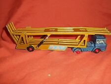 Matchbox 1969 DAF car transporter rare colour Blue Gold