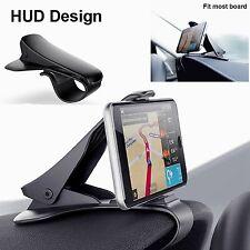 Support téléphone voiture Auto Holder Clip Universel Pr iphone Samsung GPS 6.5''