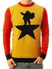 Ugly Christmas Party Sweater Unisex Men's Santa Star Hamilton Xmas Sweatshirt