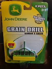 JOHN DEERE GRAIN DRILL 1/64 ERTL DIECAST NEW