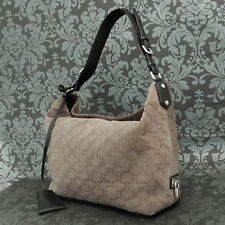Rise-on LOUIS VUITTON Monogram Antheia Hobo PM Suede Gray Shoulder Bag #4
