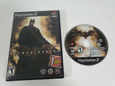 New ListingBatman Begins (PlayStation 2 Ps2 2005) Tested, Works