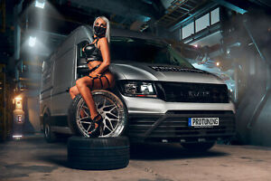 Protuning 2021 Kalender Calendrier Voiture Sexy Auto Miss VW Crafter Homme Tge