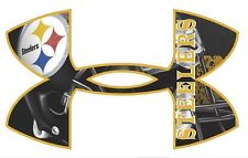 Under Armour Pittsburgh Steelers Football Truck/Window Decals Sticker-Set of 3