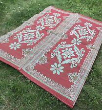 PAGLIA IN PLASTICA violazione Tappetino Indoor & Outdoor Impermeabile tappeto