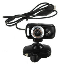 USB 3 LEDs Mega HD Webcam Web Cam Camera + Mic pour PC portable Win 7 8 Noir WT