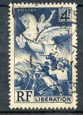 TIMBRE FRANCE OBLITERE N° 669 LIBERATION 1945 / Photo non contractuelle