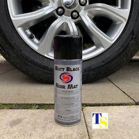 3 X Autosmart Matt Black Paint 400ml (Black spray for car metals plastics) TRADE