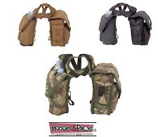 Cashel Horse Saddle Heavy Horn Bag Phone Pack Small Medium Black Brown Camo Tack