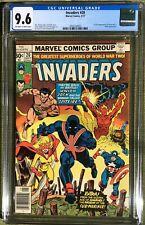 Invaders #20 CGC 9.6 NM+ 1977 MCU Marvel Origin Sub-Mariner 1st App Union Jack 2