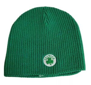 NEW without tags NBA BOSTON CELTICS women one size Knitted Cap/Beanie Green