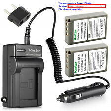 Kastar Battery AC Travel Charger for Olympus BLS-5 & Olympus E-PM1 EPM1 Camera