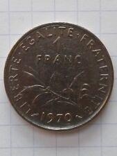 France 1 francs 1970 . semeuse . TB