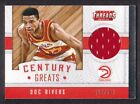 2015-16 Panini Threads Century Greats Jersey 26 Doc Rivers 129/199 Atlanta Hawks