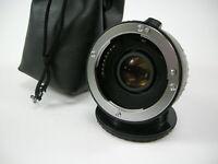 Vivitar Series 1 2x MC4 AF Converter DGII for Sony A