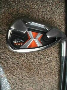 Callaway X24 HOT IRON SET 4-PW+ A WEDGE...Regular Flex Graphite Shafts ...