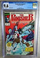 Punisher War Journal #7 Wolverine Marvel 1989 CGC 9.6 NM+ WPages Comic Q0121
