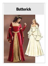 PATTERN for Medieval dress Butterick 4571 Guinevere 14 16 18 20 Rennaissance SCA