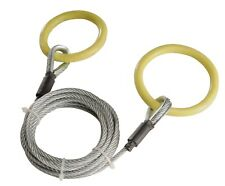 Timber Tuff TMW-38 Log Choker Cable with 2 Tow Rings