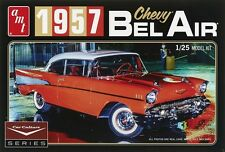 AMT 1:25 1957 Chevy Bel Air Car Culture Red Model Kit AMT988