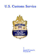 U.S. CUSTOMS SERVICE Chronology of Badges by Lucas