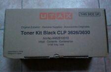 UTAX CLP 3626 / 3630 Toner Kit Nero NUOVO ORIGINALE IN SCATOLA SIGILLATA