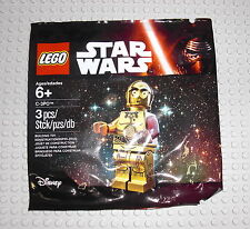 LEGO 5002948 Star Wars - C-3PO Polybag - Droid C3PO C3-PO Gold TFA EP7 Episode 7