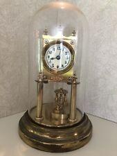 400 Day Gustav Becker Medaille D'or Anniversary Clock Disc Pendulum Circa 1900