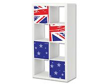 Union Flag Möbelsticker / Aufkleber passend für EXPEDIT / KALLAX von IKEA - ER14