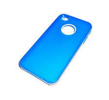 NEW LOGO HOLE BLUE/WHITE APPLE IPHONE 4 4S SMARTPHONE CASE SUPER FAST SHIPPING